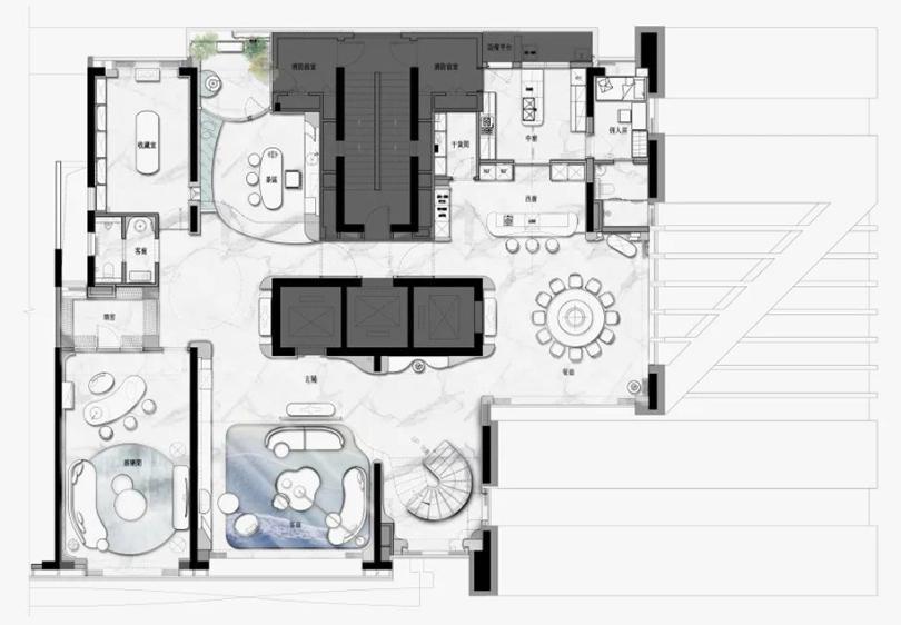 План квартиры 1-го жтажа