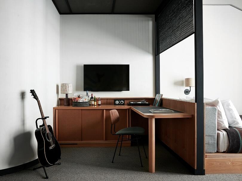 Рабочая зона и гитара