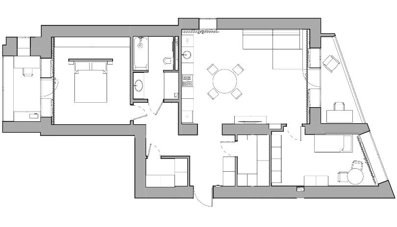 План квартиры в Тюмени