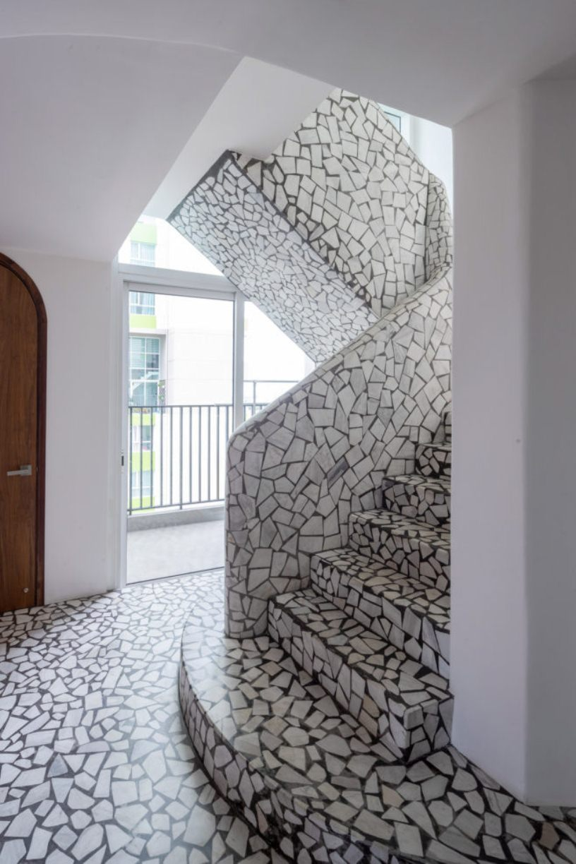 Лестница в покрытие «Терраццо»