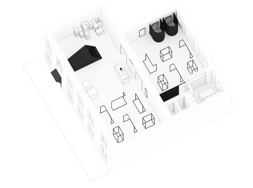 3D план секонд-стора