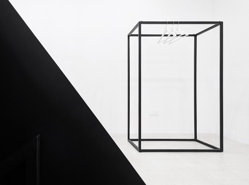 Черный квадрат для одежды